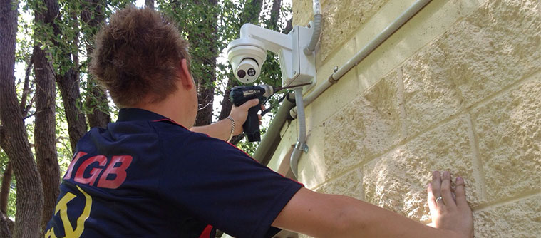 Home alarm system repairs Brisbane